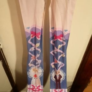 Cat bride and cat groom tights